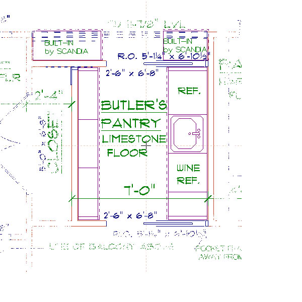 37 butlers 600 600 kitchens pantry for Kitchen plans with butlers pantry